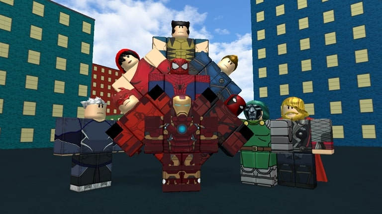Marvel and DC Dawn of Heroes roblox