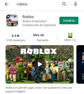 roblox en Google Play