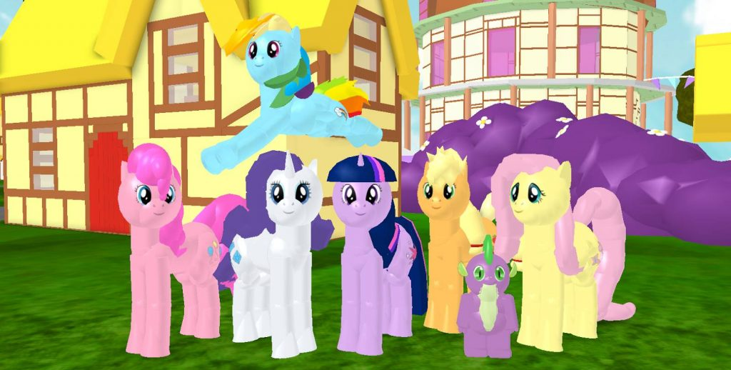 my little pony 3d roleplay roblox